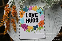 2019 Love n Hugs 3 wm (pcmello001) Tags: altenew concord9th handmade crafts crafting papercrafts stamping stamps flowers floral alloccasion