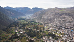 Sacred Valley (Kusi Seminario) Tags: drone mavic mavicair airphotography landscape paisaje valley valle sacredvalley vallesagrado andes andean mountains montañas river rio town pueblo farms dji urubamba cusco peru southamerica latinamerica