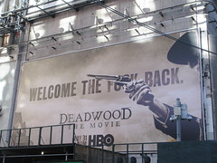 2019 Deadwood The Movie Billboard Times Square 8128 (Brechtbug) Tags: deadwood the movie billboard timothy olyphant ian mcshane molly parker kim dickens brad dourif keith carradine john hawkes jeffrey jones number one times square building below no longer existing orange news zipper ticker 42nd street broadway near 7th avenue new york city 05142019 next walgreens nyc hbo tv series 2004 2006 show television cable 2019