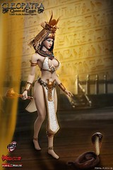 TBLeague-PHICEN PL2019-138 Cleopatra Queen of Egypt - 14 (Lord Dragon 龍王爺) Tags: 16scale 12inscale onesixthscale actionfigure doll hot toys phicen tbleague seamless