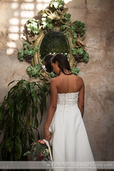 Bride Before the Mirror (Laura K Bellamy) Tags: bride bridal bridals portraits wedding weddings