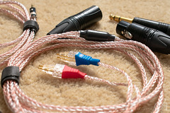 Cables 1 (TheGame21x) Tags: cables audiocables audiophile audiophilecables handmadecables silvercables headphonecables headphones audiogear audio balancedheadphonecables balancedcables balanced xlr balancedxlr silvercopperhybrid silvercopperhybridcables