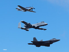 171105_030_JaxAS_heritage (AgentADQ) Tags: jacksonville nas florida 2017 air show airshow a10 ii warthog us force jet fighter plane airplane military aviation thunderbolt lockheed f22 raptor north american p51d mustang