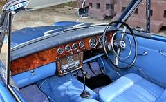 1963 Sunbeam Rapier Convertible Series 3a 3 SHW (BIKEPILOT, Thx for + 5,000,000 views) Tags: 1963 sunbeam rapier convertibleseries3a 3shw uk brooklandsmuseum britishmarquesday weybridge surrey england britain british blue car automobile vehicle transport
