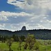 Even from Miles Away and then You See It the First Time... (Devils Tower National Monument)
