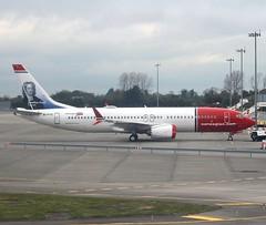 Norwegian                                      Boeing 737MAX                                   EI-FYC (Flame1958) Tags: 9571 norwegian norwegianairlines norwegianairways norwegianb737 norwegian737 norwegianb737max norwegian737max boeing737max boeing 290419 0419 2019 dub eidw dublinairport maxstorage b737maxgrounding eifyc