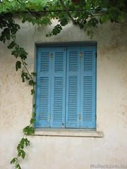 Nagyon görög... (MullerAdam_hu) Tags: kék ablak kikapcsolódás pihenés ház nyaralás nyár görög görögország argasi canonpowershots2is 2011 blue window recreation rest house vacation holiday summer greek greece