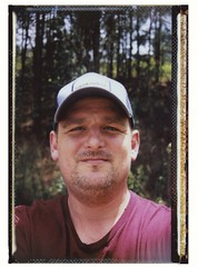 Self Portrait (randywebb1) Tags: fuji portrait film instant instax 4x5 speedgraphic largeformat