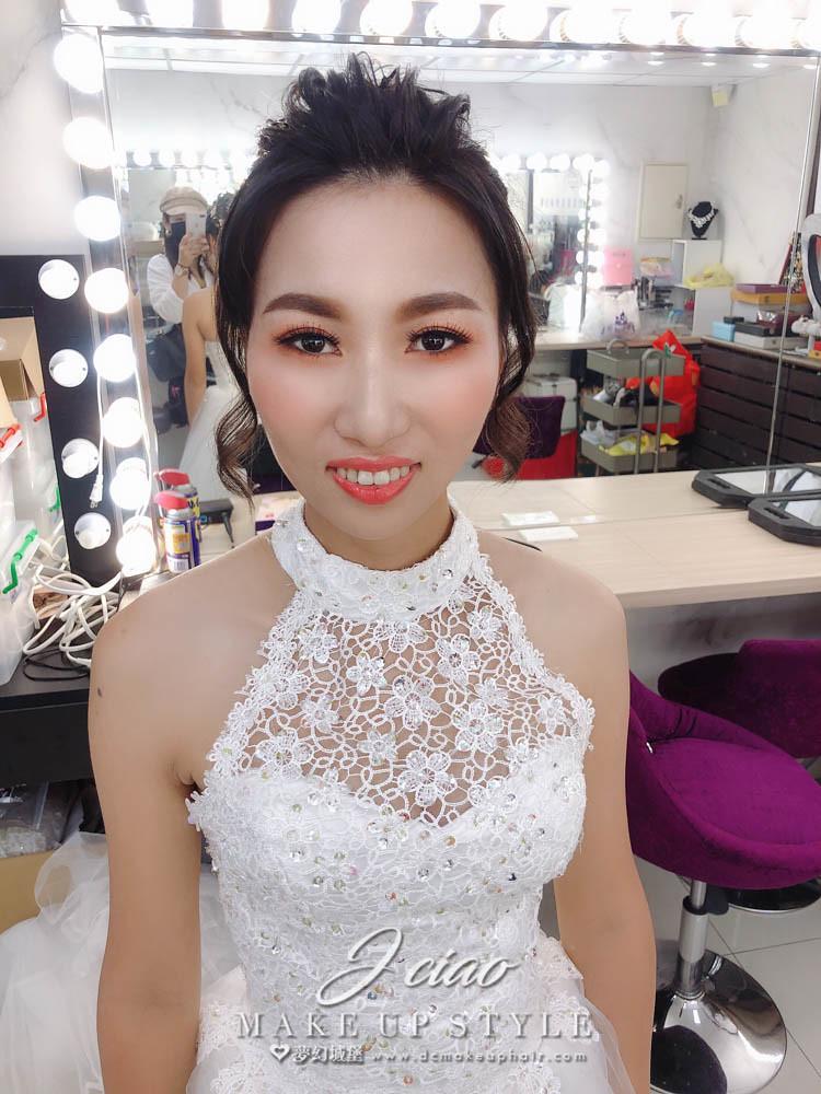 【新秘婕喬】bride敏蓉 新娘婚紗造型