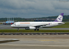 TC-FHM Airbus A320 Freebird (@Eurospot) Tags: tcfhm airbus a320 3012 brussels bruxelles ebbr freebird