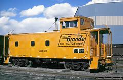 Fresh Paint (jamesbelmont) Tags: riogrande drgw provo utah caboose train railroad railway pdm burnham colorado denver