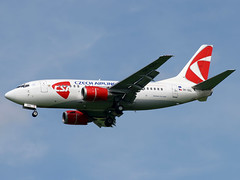 OK-DGL Boeing 737 CSA (@Eurospot) Tags: okdgl boeing 737 737500 csa prague lkpr