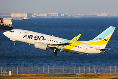 Air Do Boeing 737-781 JA12AN (Mark Harris photography) Tags: spotting hnd plane aviation canon