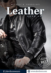 Leather-Fashion-Jacket-is-a-classic-outfit (devilsondotcom) Tags: leather jackets mens fashion leatherjackets menswear style styling