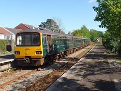 143603 & 150216 Topsham (3) (Marky7890) Tags: 143603 class143 pacer gwr 150216 class150 sprinter 2f39 topsham railway devon avocetline train