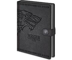 Game of Thrones Stark Notebook Zwart (filmflits) Tags: gameofthrones got stark zwart winteriscoming gamesmerchandise notebook kladblok