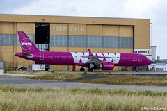 WOW Air Airbus A321-253N  |  TF-SKY  |  LMML (Melvin Debono) Tags: wow air airbus a321253n | tfsky lmml cn 7694 stored neo mla malta melvin debono spotting canon eos 5d mark iv 100400mm plane planes photography airport airplane aviation