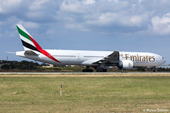 Emirates Boeing 777-31HER  |  A6-ECW  |  LMML (Melvin Debono) Tags: emirates boeing 77731her | a6ecw lmml cn 38981 mla malta melvin debono spotting canon eos 5d mark iv 100400mm plane planes photography airport airplane aviation