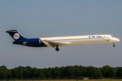 UR-CFF (PlanePixNase) Tags: aircraft airport planespotting haj eddv hannover langenhagen mcdonnell douglas md83 umair ukraine mediterranean m83