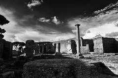 antica (paulopar.rodrigues) Tags: local exterior italia photofoto captureone fuji xt1 bw ostiaantica