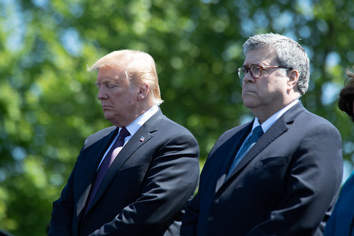 Trump and Barr, From ArchivedPhotos