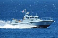 Royal Navy Scimitar Class Patrol Boat HMS Sabre P285 off Catalan Bay, Gibraltar (14) (andrew.dace) Tags: roayl navy scimitar class hms sabre p285 gibraltar