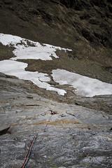 fleur de rodho / dent d'Orlu (le pere ubu) Tags: grandevoie escalade orlu vg lepereubu neige rockclimbing multipitch