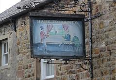 Emglish Pub Sign - Hark to Bounty, Lancashire (big_jeff_leo) Tags: england english pub pubsign publichouse sign street lancashire