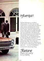 1970 ZC Fairlane By Ford Page 2 Aussie Original Magazine Advertisement (Darren Marlow) Tags: 1 7 9 19 70 1970 z c zc f ford fairlane s sedan car cool collectible collectors classic a automobile v vehicle aussie australian australia 70s