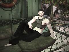 A Deserved Rest... (Tonny Rey) Tags: kaju men clothing blog