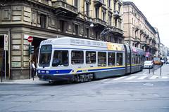 TRN_5041_200407 (Tram Photos) Tags: torino turin tram tramway tranviaria strasenbahn gtt atm fiat 5000 fiatferroviaria