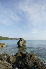 20190515A73_8105 (Gansan00) Tags: ilce7m3 α7ⅲ sony zeiss japan 山口県 yamaguchi 日本 landscape snaps ブラリ旅 5月 oohama 大浜海水浴場 sea morning fe1635mmf4