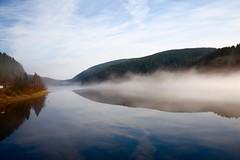 Soft Fog (Carsten JS) Tags: landscape lake fog deutschland harz nebel niedersachsen see unterwegs wandern schulenbergimoberharz