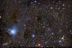 Nebulosa Iris y fantasmas en Cefeo. (gerardtartalo) Tags: astrophotography astrofotografia astronomy telescope astronomia telescopio cosmos universe space deepspace nebula canon astrometrydotnet:id=nova3390930 astrometrydotnet:status=solved