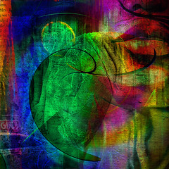 et tu... (Mark Noack) Tags: light color photoshop layer layering surreal expressionism abstract psychedelic futurist abstraction