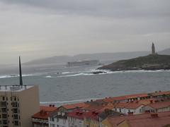 torres (jesust793) Tags: torre tower mar sea hercules milenio barcos ships