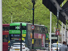 The X10 NXWM Platinum bus on Colmore Row (ell brown) Tags: colmorerow birmingham westmidlands england unitedkingdom greatbritain colmorebid colmorebusinessdistrict bus x10 nxwm nationalexpresswestmidlands nationalexpresswestmidlandsplatinum tree trees busstop rubyjoyce