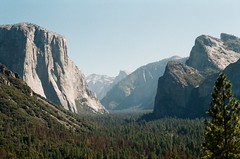 Tunnel view (teacup_dreams) Tags: tunnel view yosemite usa film canon ae1 roadtrip filmfilmforever filmsnotdead