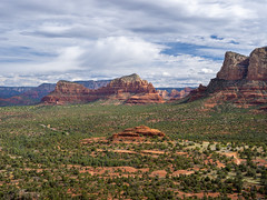 View from Bell Rock, Sedona. (Photograpmorph) Tags: sedona bell rock landscape mountains hiking american beauty arizona