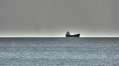 On The Horizon. (ManOfYorkshire) Tags: shoreham sussex england gb uk cargo ship boat southcoast waiting anchor atanchor vessel port
