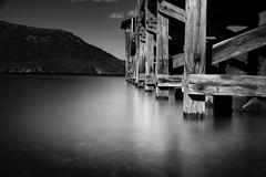 Lost in the harbour (.KiLTЯo.) Tags: kiltro ar argentina quilaquina lacar lácar lake water pier dock longexposure nature agua lago sanmartíndelosandes