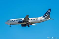 [CDG] Tarom Boeing 737-300 _ YR-BGB (thibou1) Tags: thierrybourgain cdg lfpg spotting aircraft airplane nikon d810 tamron sigma tarom romania boeing boeing737 b737 b737300 b733 landing yrbgb romania2019 sticker