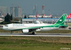 IRAQI AIRWAYS A320 YI-ARA (Adrian.Kissane) Tags: takeoff sky a320 yiara istanbul iraqiaw 1042018 5115 plane ataturk aeroplane airport aircraft airbus runway turkey jet