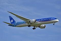 """Fakarava"" Air Tahiti Nui F-OMUA Boeing 787-9 Dreamliner cn/39297-750 @ LFPG / CDG 07-05-2019 (Nabil Molinari Photography) Tags: fakarava air tahiti nui fomua boeing 7879 dreamliner cn39297750 lfpg cdg 07052019"