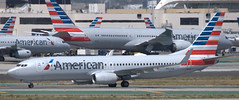 Boeing 737-823 N953AN (707-348C) Tags: losangeles thehill klax passenger airliner jetliner boeing boeing737 n953an americanairlines american b738 aal lax usa california 2019 ca