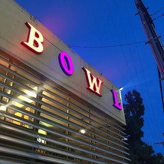 Shatto 39 Lanes (jericl cat) Tags: shatto 39 lanes bowl bolwing neon sign dusk night pin gloaming losangeles la koreatown