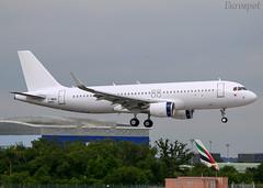 F-WWBG Airbus A320 Aero K (@Eurospot) Tags: fwwbg airbus a320 8925 cambodia toulouse blagnac