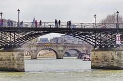 434 Paris en Mars 2019 - la Seine, le Pont des Arts, le Pont Neuf, Pont Saint-Michel (paspog) Tags: paris ptance seine mars march märz 2019 îledelacité pontneuf pontdesarts