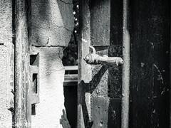 Portal zu einer anderen Welt --- Portal to a different world (der Sekretär) Tags: anstrich cantonofneuchâtel detail farbe holz kantonneuenburg lack lackierung montmirail neuchâtel neuenburg objekte schloss schweiz stein switzerland tür türklinke türschloss wand abblättern abgeblättert abgebröckelt alt beschädigt broken bröcklig closeup defect defekt door doorhandle doorlock kaputt lasuisse lacquer lock old outoforder peeloff peeledoff stone verwittert wall weatherbeaten weathered wood
