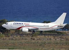 YR-CBK (QC PHOTOGRAPHY) Tags: rhodes diagoras greece july 31st 2018 cobrex b737300 yrcbk
